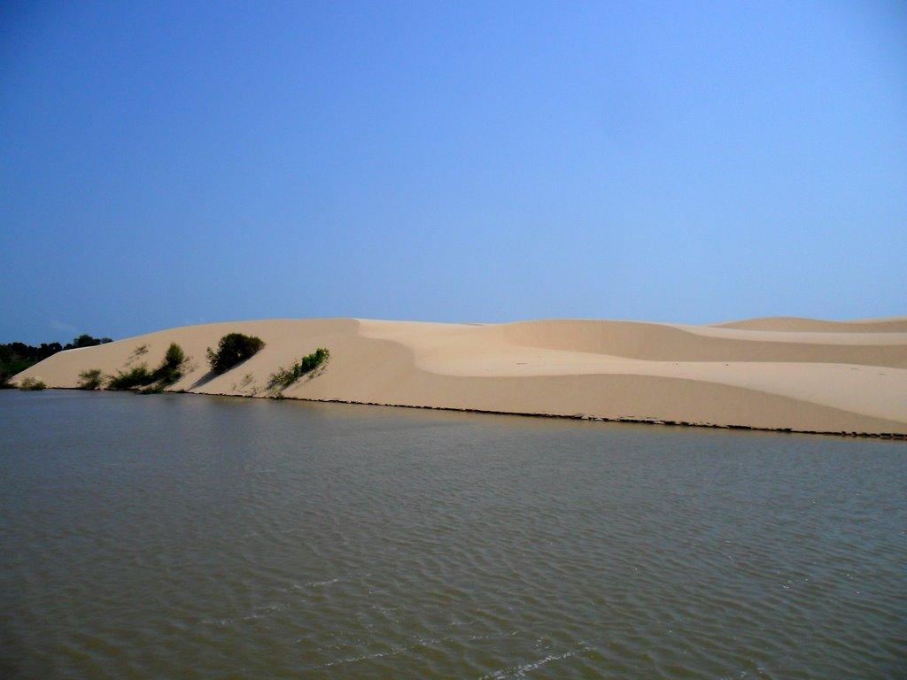 dune nel delta do Parnaiba in Brasile