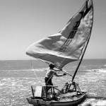 le caratteristiche barche dei pescatori in Brasile nel nordest