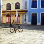 la città coloniale di Sao Luis nel Maranhao Brasile