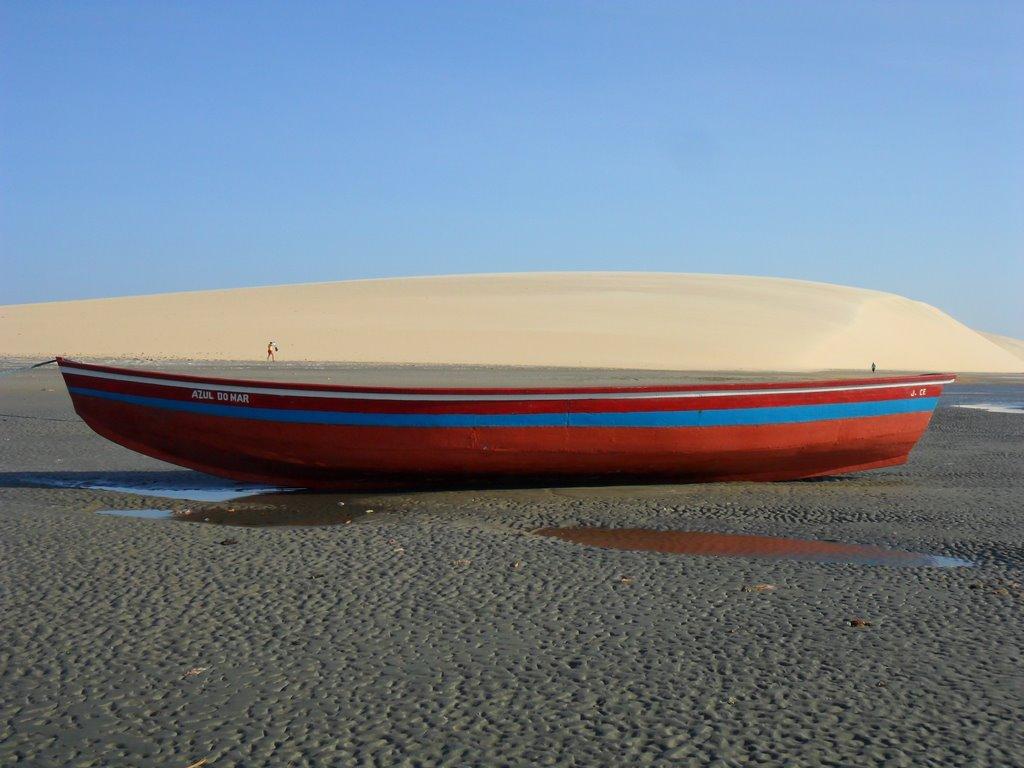 duna Por do Sol a Jericoacoara in Brasile