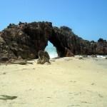 l'arco roccioso di Pedra Furada a Jericoacoara in Brasile