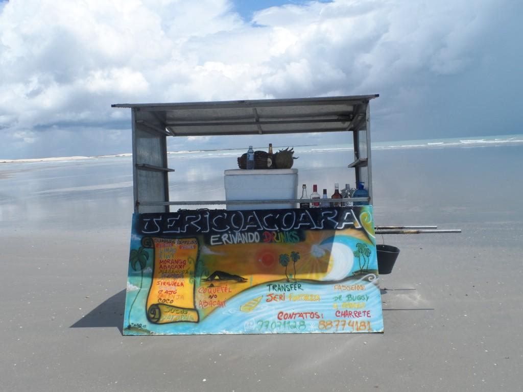 la spiaggia di Jericoacoara in Brasile
