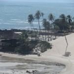 la bella spiaggia di Genipabu vicino a Natal in Brasile