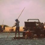 attraversamento di un fiume in Dune Buggy a Natal