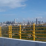 veduta dal ponte della città di Natal in Brasile