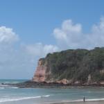 la spiaggia con i delfini di Pipa in Brasile