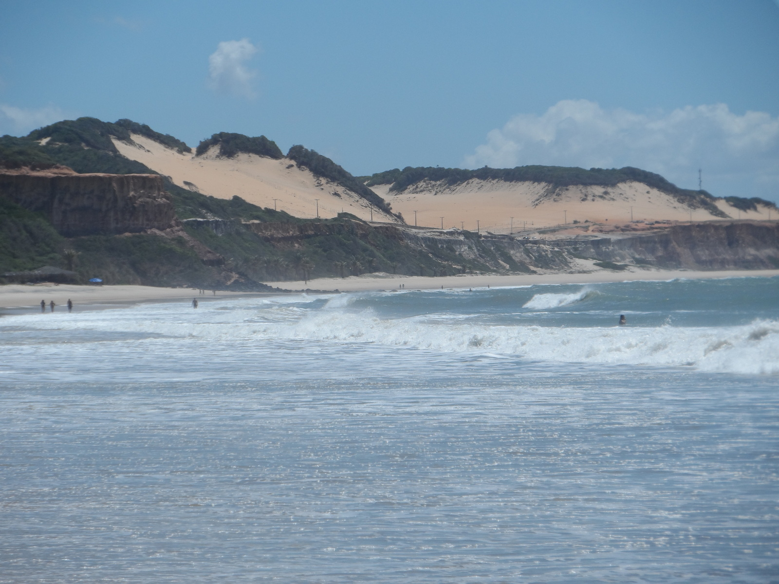 le spiagge infinite di Pipa in Nrasile vicino a Natal